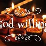 Si Deo volente - God willing