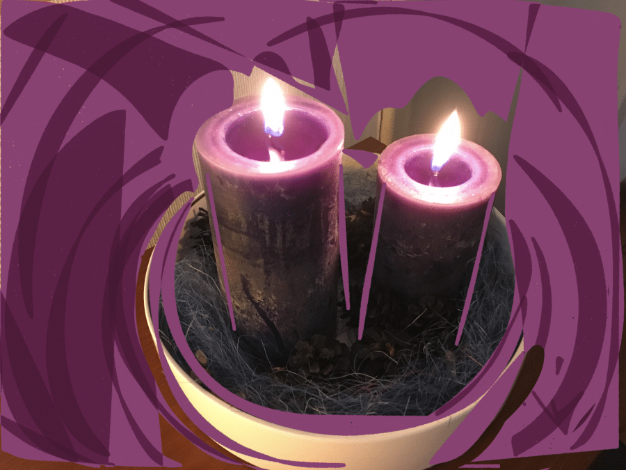The second candle - prepare